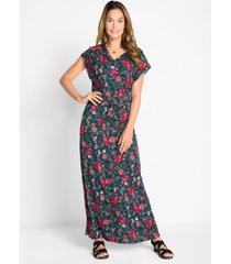 maxi jurk in a-lijn