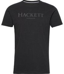 hackett ldn tee t-shirts short-sleeved svart hackett london