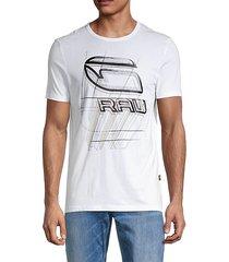 perspective logo t-shirt