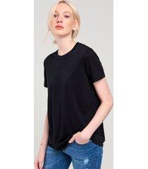 t-shirt sagres algodão oversized básica preta pp