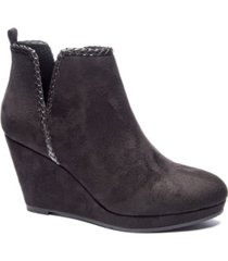 cl by chinese laundry women's volcano wedge ankle booties women's shoes
