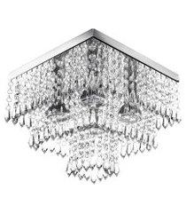 lustre de cristal acrilico sweetcrillic 30x30 perfeito!!