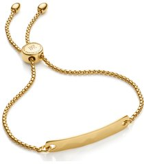 women's monica vinader engravable havana friendship chain bracelet