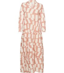 long shadow printed flared dress dresses everyday dresses rosa bobo choses