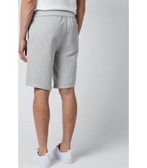 polo ralph lauren men's fleece shorts - andover heather - l