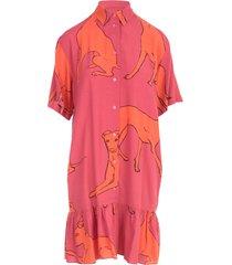 ps by paul smith oversized dress w/flounce