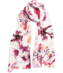 inc international concepts dreamy floral pashmina scarf, created for macy's