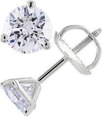 certified 1 ct. t.w. diamond stud earrings in 14k white or yellow gold