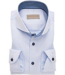 john miller overhemd tailored fit licht blauw