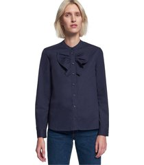 stand-up blouse regular fit
