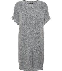 5210 - izadi dress kort klänning grå sand