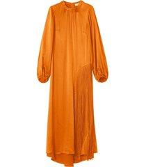 majorelle fringe dress in clementine