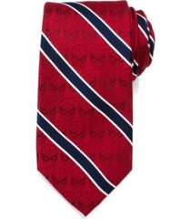 marvel spider-man stripe men's tie