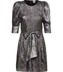 edie dress silver kort klänning silver twist & tango