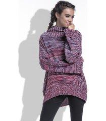 sweter oversize z golfem