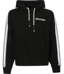 palm angels fleece track hoodie