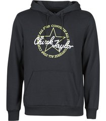 sweater converse deconstructed chuck patch pullover hoodie