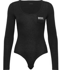 ufby-bodypok-ls uw body t-shirts & tops bodies svart diesel women