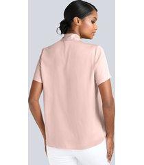 blus alba moda rosa