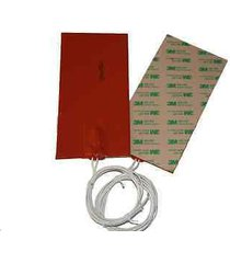 """4"""" x 6"""" 100 x 150mm 110v 25w water tank pan ce ul ithermal  silicone pad heater"""