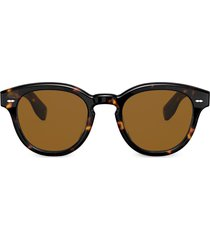 oliver peoples cary grant sunglasses - brown