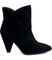 gc shoes flores pull-on asymmetrical topline bootie women's shoes