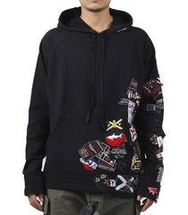 paul & shark by greg lauren black hoodie