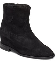 catalina shoes boots ankle boots ankle boots with heel svart pavement