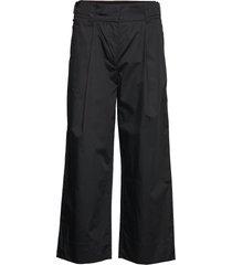 tanderfit cotton wijde broek zwart rodebjer