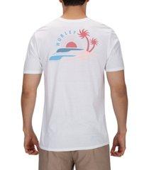 hurley men's main breaks graphic t-shirt