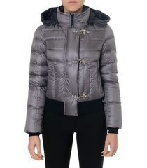 fay grey jacket in polyamide