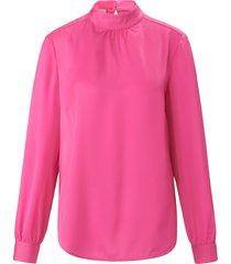 blouse zonder sluiting met lange mouwen van uta raasch roze