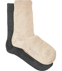 strumpor comfy cotton socks x2 women 2-pack