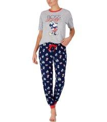 disney minnie mouse boss lady pajama set