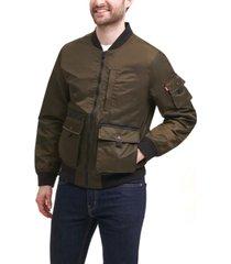 levi's men's flight satin utility bomber jacket