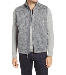 men's peter millar legacy wind fleece vest, size xx-large - grey