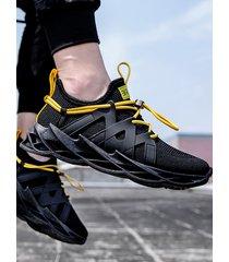 hombres otoño zapatos casuales cómodos y transpirables corriendo sneaker