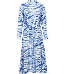 lixiw dress jurk knielengte blauw inwear