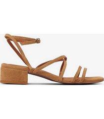 sandalett biadea suede strap sandal