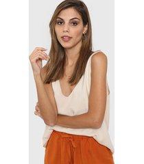 blusa natural nano kendal liso