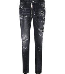 dsquared2 regular destroyed jeans