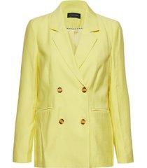 glow-ja blazer colbert geel storm & marie