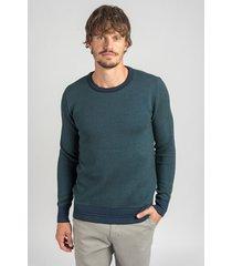 sweater verde oxford polo club noel