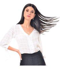 blusa para mujer en algodón blanco color-blanco-talla-xl