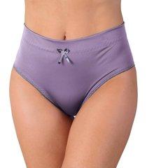 calcinha vip lingerie alta castanho  - /roxo - feminino - poliamida - dafiti
