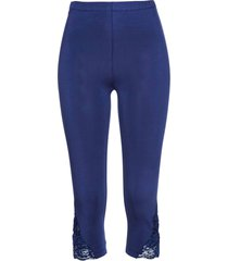 leggings capri (blu) - bpc selection