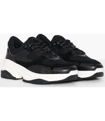 selected homme slhgavin trainer w sneakers svart