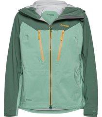 cecilie 3l jkt outerwear sport jackets grön bergans