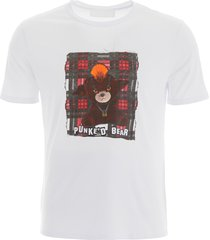 neil barrett punked bear t-shirt