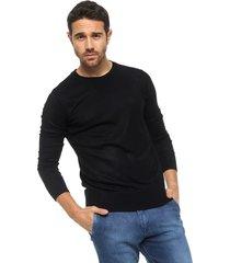 sweater  negro tascani